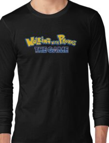 Walking with Phones: the Game Long Sleeve T-Shirt