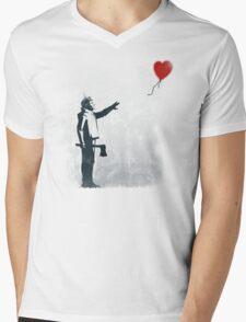 If I had a heart Mens V-Neck T-Shirt