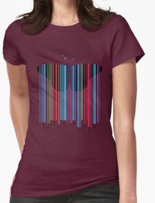 cute and cool modern butterfly design Womens Fitted T-Shirt