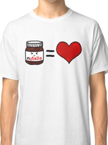 Nutella Is Love Classic T-Shirt