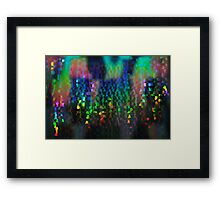 Light Games and Reflections in a Lift Framed Print