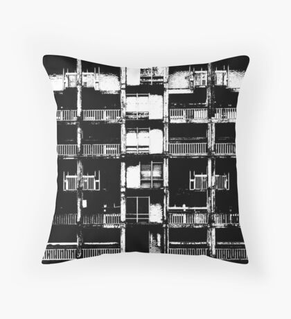 Anti Mediocrity Campaign Throw Pillow