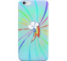 my grunge little ponly.. rainbow dash iPhone Case/Skin