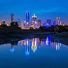 "Dallas ""Police Tribute"" Skyline 2016 by josephhaubert"