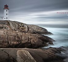 Peggy's Cove, Canada by Curtis Budden
