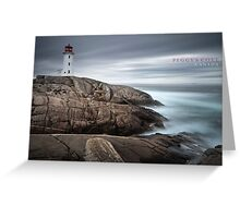Peggy's Cove, Canada Greeting Card