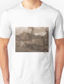 Gold Dust Saloon Unisex T-Shirt