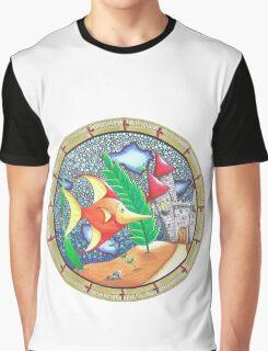 Le chateau dans l'aquarium Graphic T-Shirt