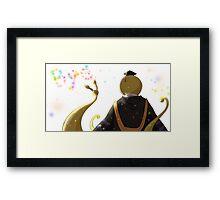 koro sensei Framed Print
