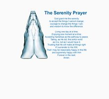 The Serenity Prayer 2 Womens Fitted T-Shirt