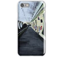 London Underground Wood Green Piccadilly Line Tube Station Acrylic Painting iPhone Case/Skin