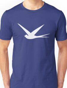 Sweet Swallow in the Blue Sky Unisex T-Shirt