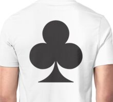 ACE, Black, Ace of Clubs, CLUB, Cards, Game, Suit, gangs, Gamble Unisex T-Shirt