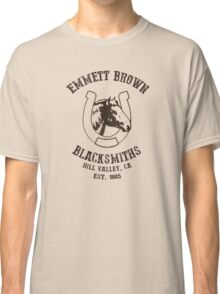 Emmett Brown Blacksmiths T-Shirt Classic T-Shirt