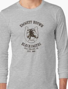 Emmett Brown Blacksmiths T-Shirt Long Sleeve T-Shirt