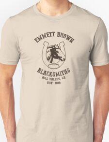 Emmett Brown Blacksmiths T-Shirt T-Shirt