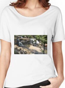 Natural Beauty of Liberty Falls Women's Relaxed Fit T-Shirt