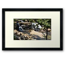 Natural Beauty of Liberty Falls Framed Print