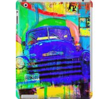 Old Blue Truck Abstract iPad Case/Skin