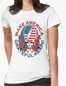 Make Grateful Again - America Womens Fitted T-Shirt