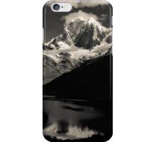 Ninashanca reflected in Mitucocha Lagoon - Peru iPhone Case/Skin