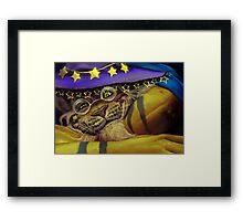 ol tizard Framed Print