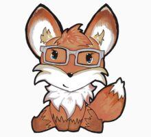 Geeky Fox Kids Tee