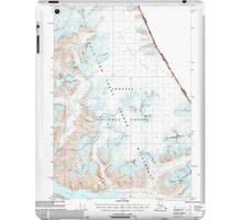 USGS TOPO Map Alaska AK Sumdum C-3 359386 2000 63360 iPad Case/Skin