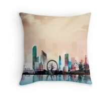 London thames Throw Pillow