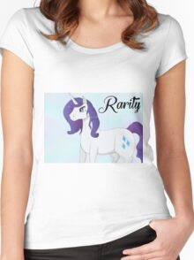 'Real' Rarity Women's Fitted Scoop T-Shirt