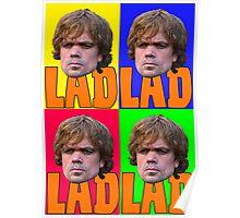 TyrionLAD PopArt  Poster