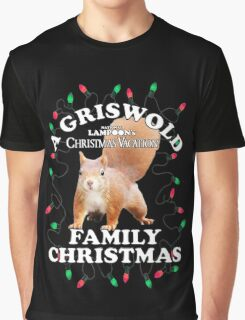 National Lampoon's - Christmas Full Squirrel Attack Graphic T-Shirt