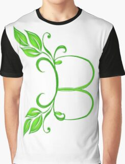 Letter B Graphic T-Shirt