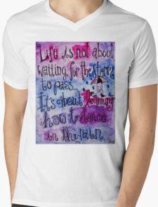 Dance In The Rain Mens V-Neck T-Shirt