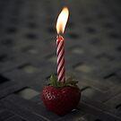 Strawberry Birthday by Randy Turnbow