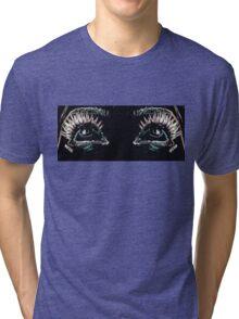 Eyes up. Tri-blend T-Shirt