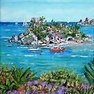 Isola Bella in Sicily by Teresa Dominici