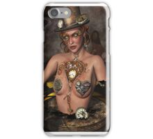 Mother Time Surreal Steam punk Art iPhone Case/Skin