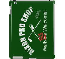 Dixon Pro Shop iPad Case/Skin