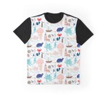 Nautical Doodles Graphic T-Shirt