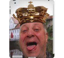 King of Krumbach iPad Case/Skin