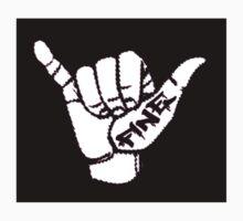 Fine Logo Reverse Kids Tee