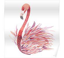 Dear Flamingo Poster