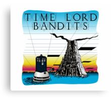 Time Lord Bandits Canvas Print