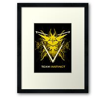 Team Instinct Framed Print
