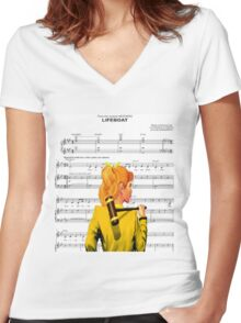 Lifeboat Heathers Women's Fitted V-Neck T-Shirt