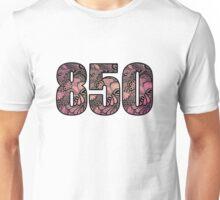 850 Area Code Doodle Unisex T-Shirt
