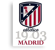 Atletico Madrid club football Canvas Print