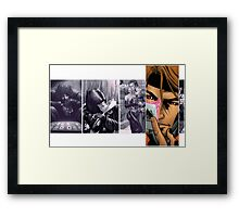 gambit comic Framed Print