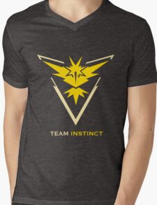 Team Instinct Black Mens V-Neck T-Shirt